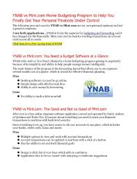 home budgeting software ynab vs mint com personal budgeting software which is better