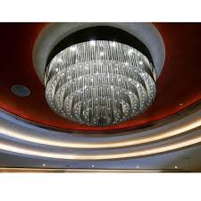 crystal glass and crystal ball banquet hall big chandelier