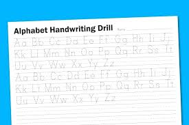 Blank Writing Practice Sheets Free Collection Of Handwriting ...