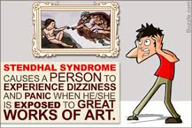 stendhal syndrome the experience of being overwhelmed by art
