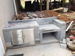 kitchen decor cinder block outdoor kitchen cinder block outdoor kitchen ideas also enchanting fireplace grill
