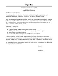 Data Entry Cover Letter Best Data Entry Cover Letter Examples LiveCareer 1