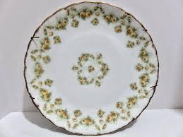 limoges elite works patterns limoges france elite works s m floral pattern plate flower bud
