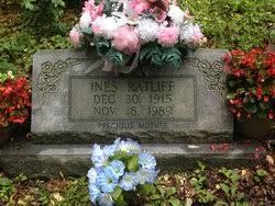 Ines Ratliff (1915-1989) - Find A Grave Memorial