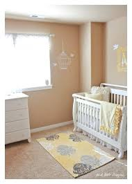grey and yellow nursery rug nursery love the white crib and yellow rug grey yellow nursery