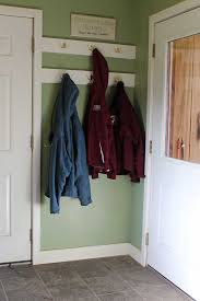 Height Of Coat Rack Mud Room Makeover Downeast Thunder Farm 52