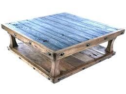 square rustic coffee table inch plans farmhouse squar
