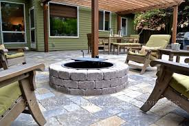 patio pavers with fire pit. Paver Patio, Pergola, Fire Pit, Seat Wall, Lighting Contemporary-patio Patio Pavers With Pit