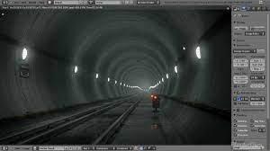 Create an Underground Subway Scene in Blender - Part 1 of 2 - YouTube