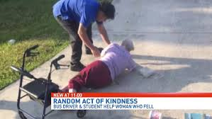 Photo of teen helping elderly woman off ground goes viral   WPEC