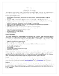 Salesman Description Resume Sales Assistant Responsibilities