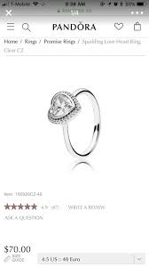 Best Pandora Rings Size Guide B75ee 46f4a