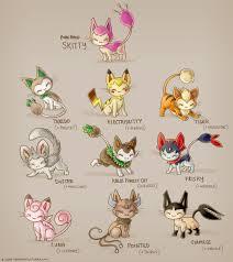 Skitty Evolution Chart Skitty Subspecies Pokemon Cat Pokemon Pokemon Eeveelutions