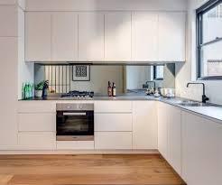 Mirror Tile Backsplash Kitchen Stunning With Mirror Backsplash Ideas Unique Backsplash