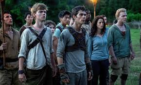 college movie review   maze runner takes control of box office