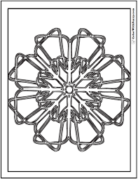 Do you want something minimal with high contrast colors to suit your modern aesthetic sensibilities? 70 Geometric Coloring Pages To Print And Customize