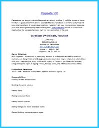 Sample Carpenter Resume Free Resume Example And Writing Download