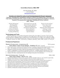 Mba Project Management Syllabus Construction Manager Resume Examples