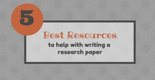best resources to help writing a research paper essay writing