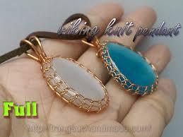 basic viking knit pendant with big stone no holes full version slow 340