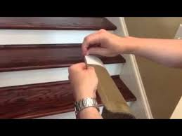 installing l and stick carpet stair treads