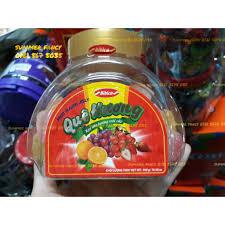 300g Kẹo dẻo trái cây Bibica - Fruit flavour jelly - bánh kẹo tết | Trái  cây, Kẹo, Kẹo mút