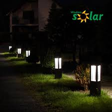 modern garden lighting. solar power three lights stainless steel street lamp post jrcp80 modern garden lighting