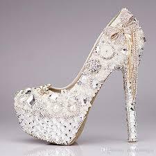 new 2016 luxury wedding shoes glitter sequins pearl bow formal Wedding Shoes Glitter Heel new 2016 luxury wedding shoes glitter sequins pearl bow formal party bridal high heel shoes em01432 green bridal shoes high heel wedding shoes from wedding shoes sparkly heel