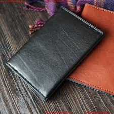 modern makishi leather high end handmade custom leather goods imported leather certificate card package new japanese simple passport holdermakishi leather