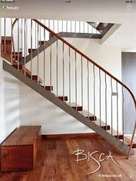 new staircase ideas. Delighful Ideas New Staircase Of Elm And Forged Steel Was Chosen For The Wonderfully  Figured Grain Which Is Both Warm Durable Note Impossibly Slim Stringers  Throughout Staircase Ideas