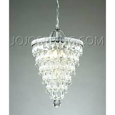 crystal drop chandelier round glass 3 light antique copper pertaining to cha