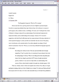 apa style content rules sample essay formatted in mla style