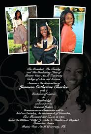 Free Graduation Invitation Templates For Word College Announcements