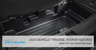 2018 chevrolet traverse interior. interesting interior valley chevy in phoenix 2018 chevrolet traverse interior features  cargo  space in chevrolet traverse interior