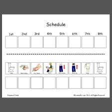 Toileting Schedule Chart Lessonpix Sharing Center