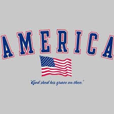America God Shed his grace on thee Men s T Shirt