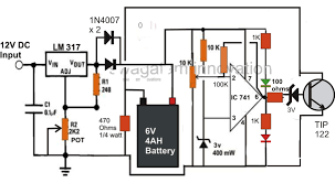 automatic lead acid battery charger circuit using ic 555 automatic lead acid battery charger circuit using ic 555 electronic circuit projects