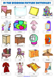 bedroom furniture names in english.  Names Bedroom Furniture Vocabulary English  Wwwredglobalmxorg Intended Names In