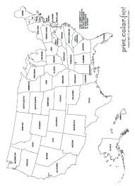 Usa Map Coloring Page Coloring Maps Of Unique Map Coloring Page