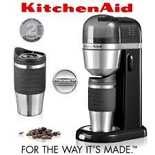 kitchenaid personal coffee maker onyx black