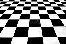Download Black And White Checkered Floor Stock Photo - Image of horizontal,  floor: 18384022