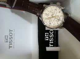 tissot prc 200 brown leather band unboxing video