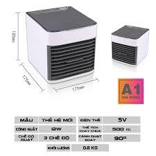 Quạt điều hòa mini loại 2 [FREESHIP - 1 ĐỔI 1] nhỏ gọn, làm lạnh A1001 -  Gia dụng thông minh A1 - Máy điều hòa hơi nước