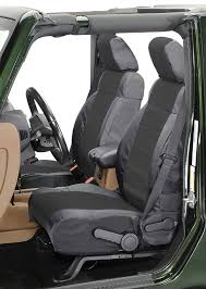 coverking front ballistic nylon seat covers for 03 06 jeep wrangler tj unlimited previous next