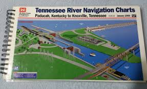Tennessee River Navigation Charts Tennessee River Navigation Charts Paducah Kentucky To