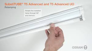 Installation guide for the innovative OSRAM SubstiTUBE T5 <b>LED</b> tubes