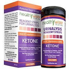 Healthywiser Ketone Strips Bonus Alkaline Food Chart