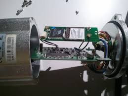 repair the wifi on your foscam fi8904 fi8905 or gion ip camera mother and daughterboard inside gion camera