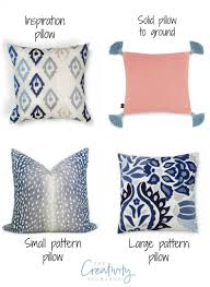 Pillow Patterns Cool Mixing Pillow Patterns And Colors Moody Monday
