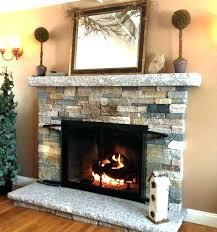 stone veneer fireplace installing photos gallery of ideas thin over brick